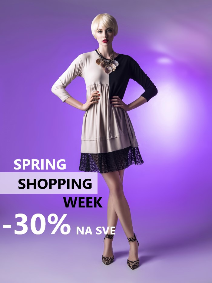 SHOPPING WEEK -30% NA SVE