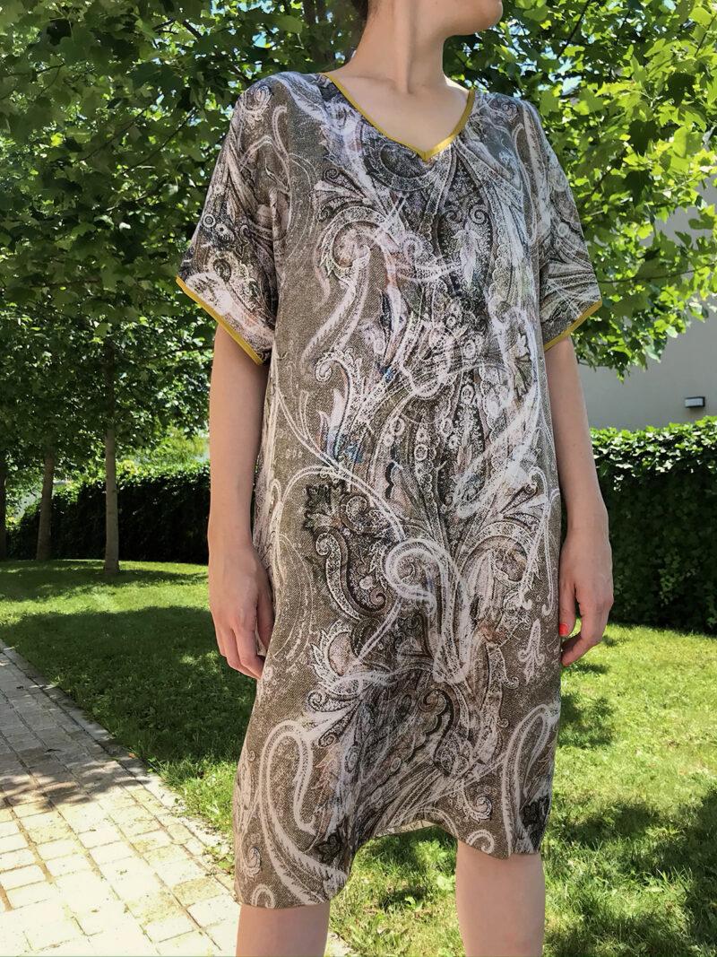 Haljina 47 Lavanda 20275 – 100% svila