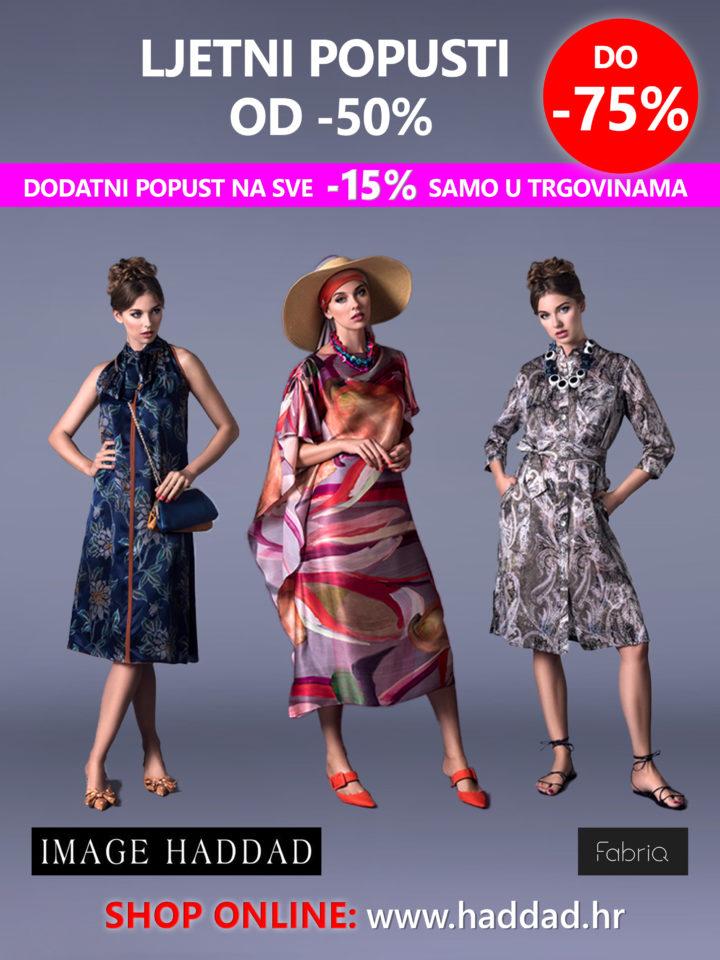 Samo u trgovinama Image Haddada dodatni popust od -15%!