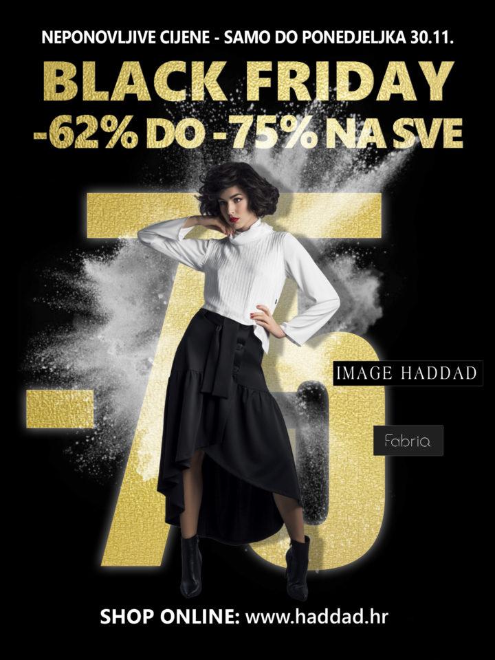 BLACK FRIDAY -62% DO -75% NA SVE – Samo do ponedjeljka 30.11.
